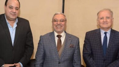 زيارة رئيس جامعة طنطا لمؤسسة أخبار اليوم .........................