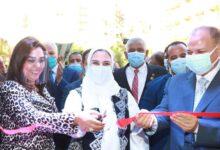 وزيرة التضامن ومحافظات أسيوط ودمياط يفتتحون معرض بأسيوط