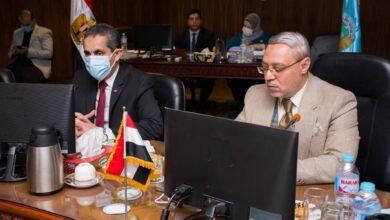 انعقاد اجتماع مجلس جامعة طنطا الشهري بحضور الدكتور طارق رحمي