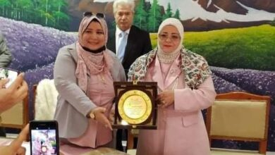 """الاتحاد العربي الافريقي الأوروبي للشباب """"يكرم وكيل أول وزارة التربية والتعليم بكفر الشيخ"""